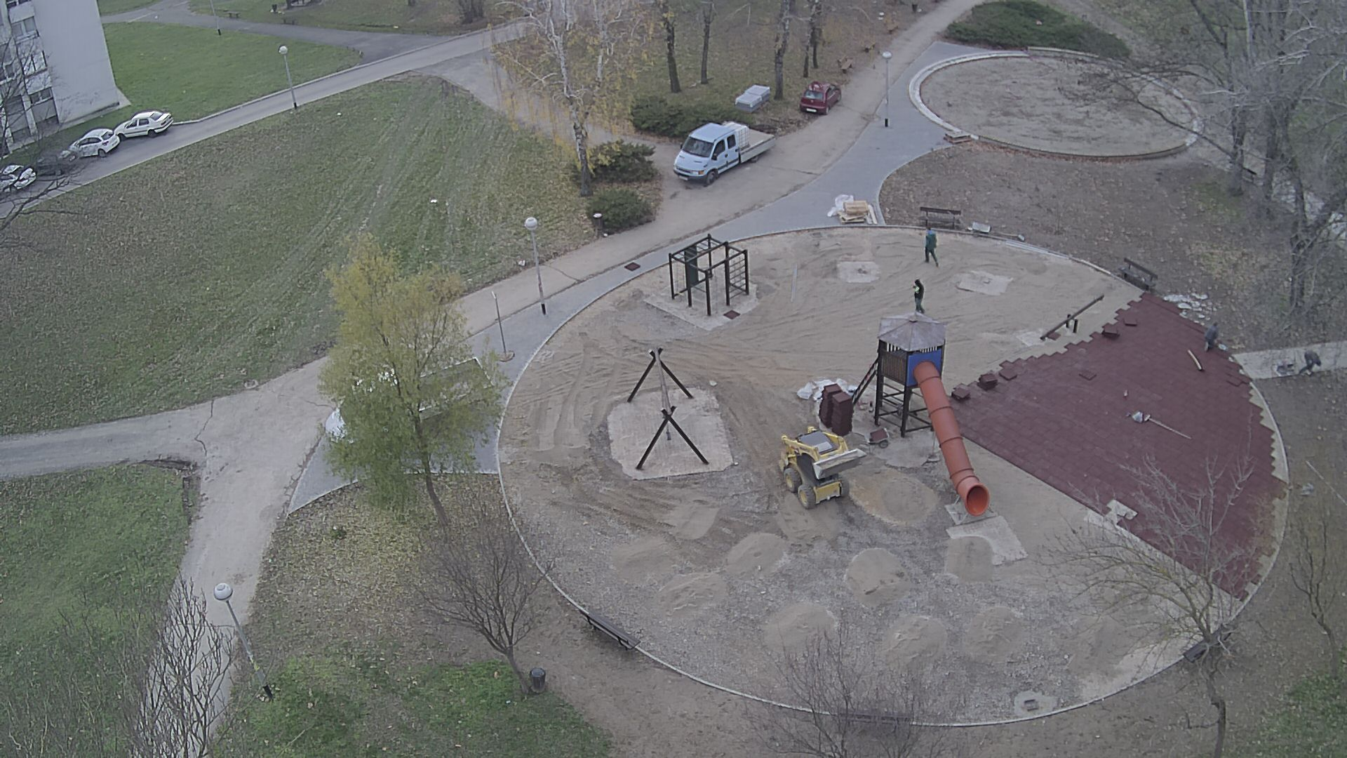 Playground renovation, Siget