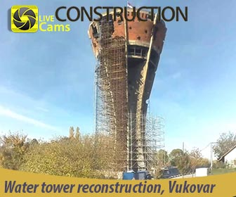 Water tower, reconstruction